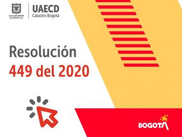Resolución 449 de 2020